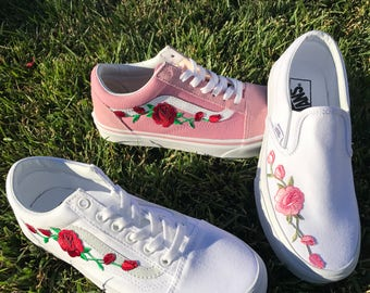 Popular Items For Embroidered Vans