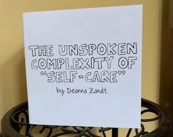 The unspoken complexity of self-care mini-comic