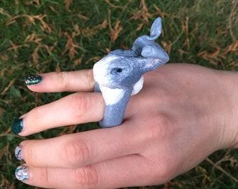 Polymer rabbit ring