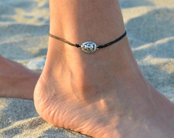 anklet for men, lion head anklet mens jewelry, minimal jewelry for him, mens anklets, siver anklets, mens jewlery, lion charm beach anklets