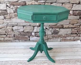 Painted/ Upcycled Vintage Table