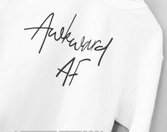 Awkward AF jumper