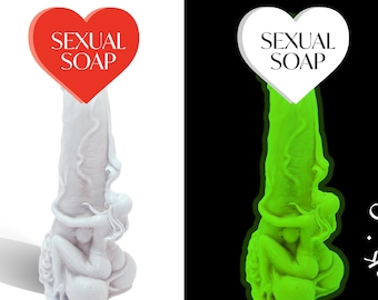 Penis Soap Glow In The Dark Soap Woman Holding Penis Soap, Glow In The Dark Penis Soap, Dick Soap, Cock Soap, Mature, Sex Soap, Erotic Soap