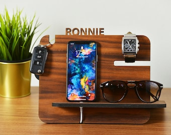 Docking Station / Fathers Day Gift / Gift for Father / Gift for Dad / Gift for Husband / Gift for Men / Gift for Him / Gift for Boyfriend