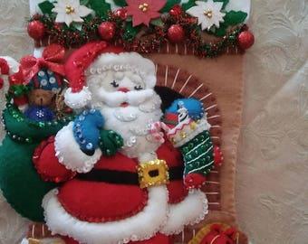 Personalized Handmade Embellished Stocking