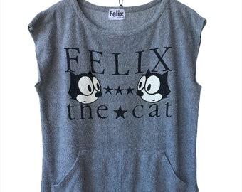 Felix The Cat Cartoon Network Dream Works Animation Tee T-shirt Brand Inspired Designer Streetwear Fits L i028