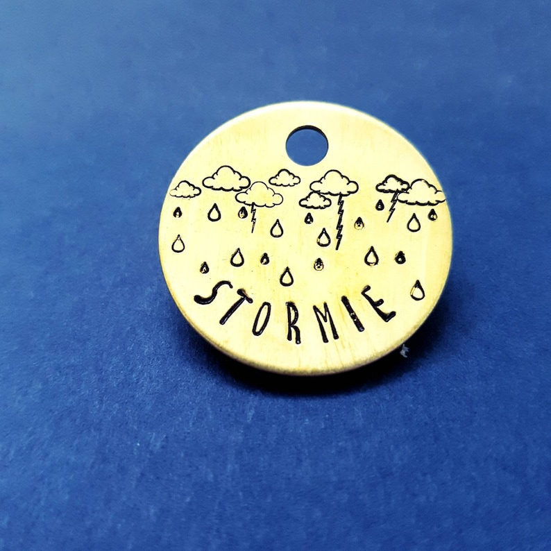 Stormy Weather ID Tag