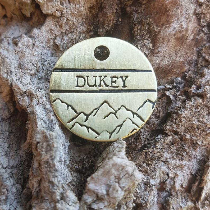 The Highest Peak ID Tag