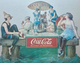 Coca-Cola Sign, 1986 Centennial Edition Wall Mirror