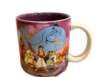 Disney's Aladdin Vintage Coffee Mug