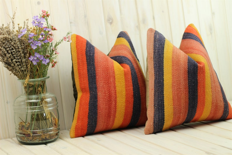 Home Living Kilim Decorative Pillow Home Design Matching Kilim Pillows Decorative Pillow 16*16in Pillows Home Decor Kilim Cushion