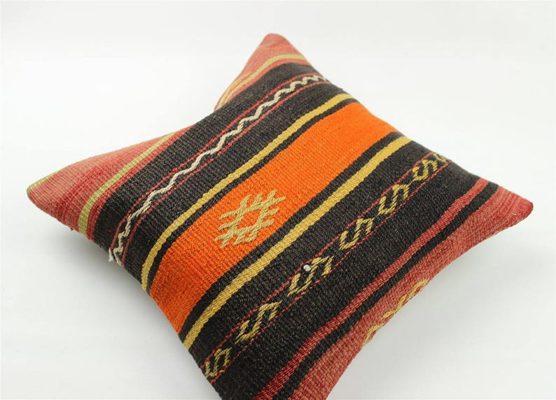 Home living Decorative pillow Turkish pillow Vintage pillow Kilim pillow Sku 3505 Kilim cushion Boho pillow Kilim pillow cover