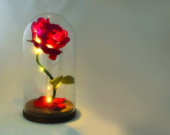 Enchanted Rose Etsy