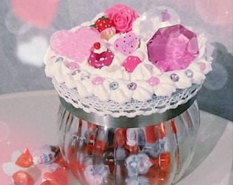 Decoden Candy Jar < 3