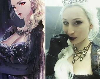 Dark Elsa Frozen Cosplay