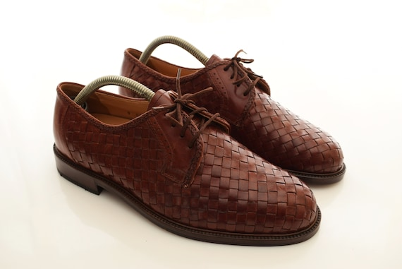 vintage Gallus Braided Shoes Leather mens size UK