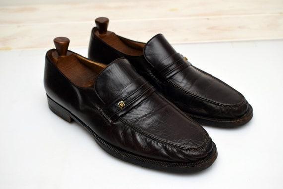 vintage Moreschi Penny Loafers mens size UK 10,5 E