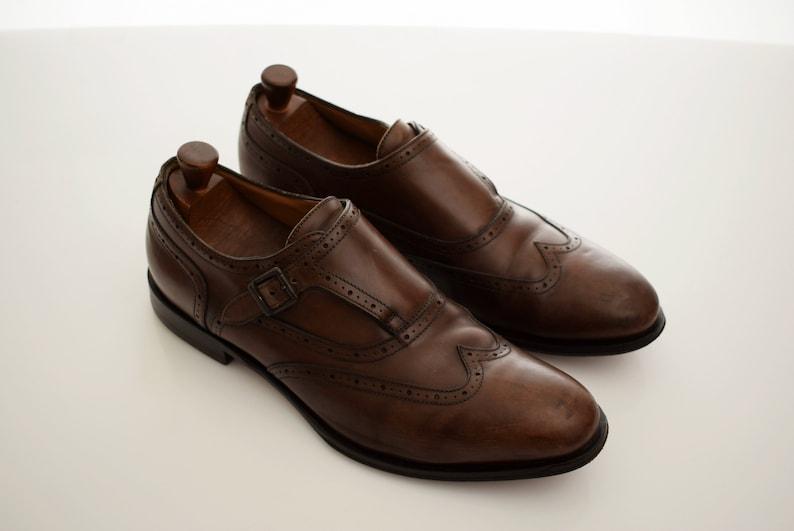 de37d95e25d8c Geox Monk Strap Loafers Shoes Man Full Leather mens size EUR | Etsy