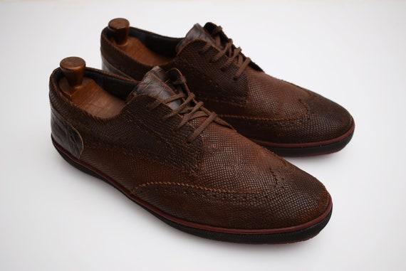 Floris van Bommel mens Shoes size EUR 425 UK 85 Snake Skin   Etsy