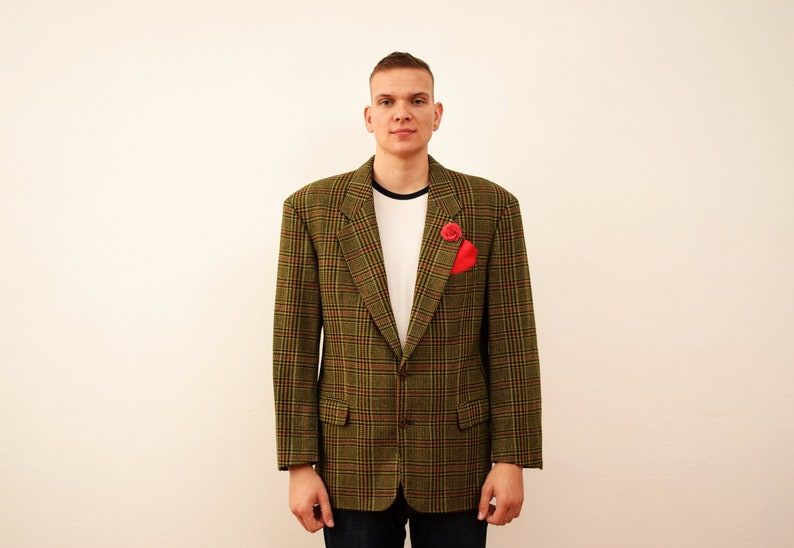 42f728c598d Vintage Hugo Boss Corleone Blazer veste des années 60 années