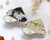 Lily Witch Hat Enamel Pin