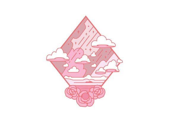 Steven Universe concept pin designs! Total 7 designs are available including NEW Lapis and Peridot pins    DETAIL  Steven • 25mm x 30mm / rose gold (copper plating) / soft enamel / cap - plain  Pearl • 25mm x 30mm / rhodium plating / soft enamel / cap - plain  Garnet • 25mm x 30mm / rose