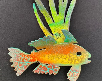Fish in Tall Coral [MA-038]