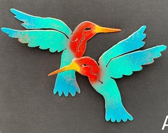 Pair of Hummingbirds [MA-035]