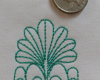 Embellishment A003 Machine Embroidery
