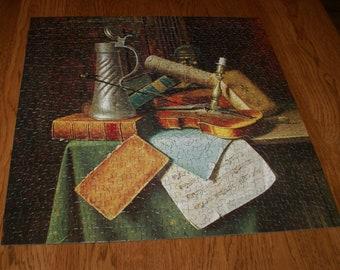 Munich Still Life 1884- Springbok 500- Compete Jigsaw Puzzle- 400PZL2057