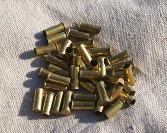 40 Empty .22 Caliber Brass Casings - 22 LR Shells - 22 Casings for Crafts