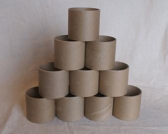 Heavy Duty Cardboard Tubes - Set of 10 Heavy Craft Tubes