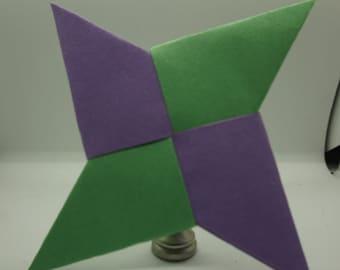 Paper Ninja Stars