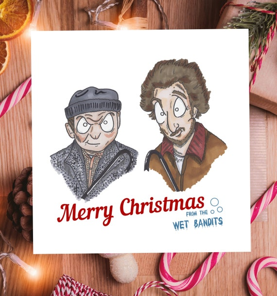 Home Alone Personalised Pen Wet Bandits Marv /& Harry Christmas Xmas Gift