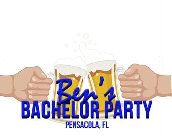 Bachelor Party Snapchat Filter