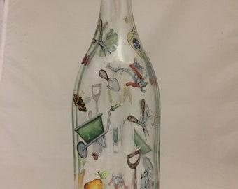 Gardening Designs on  Flip Top 1ltr.  Bottle
