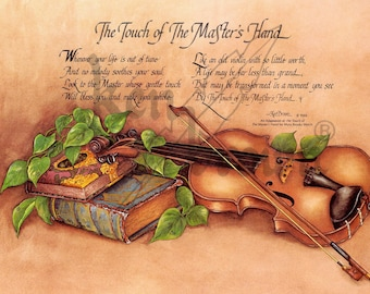 """Ken Brown Calligraphy """"The Touch of the Master's Hand"""" (books)"""