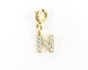 Initial letter charm