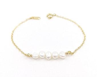 Anaïs - freshwater pearl bracelet