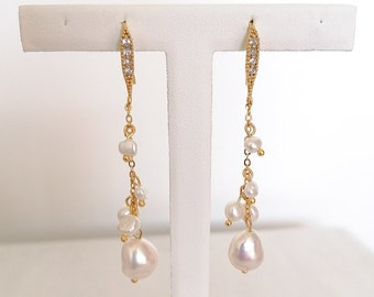 Wedding earrings