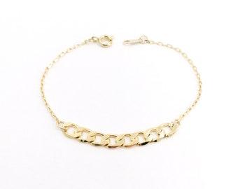 Bracelet Felicity - 24k gold plated