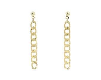 Earrings Felicity - 24k gold plated