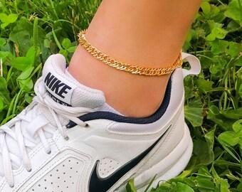 Roxy - snake chain anklet
