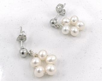 Petunia earrings - silver