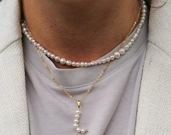 Savannah - freshwater pearl necklace