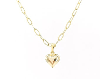 Babe - heart necklace
