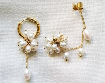 Sicily - mismatched earrings