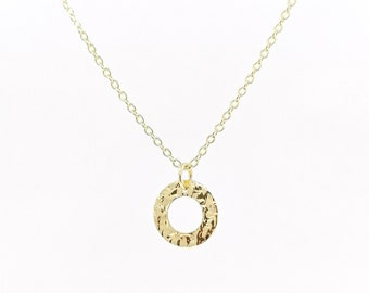 Dolcie - charm necklace, 18k gold filled