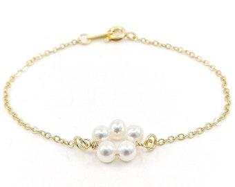 Petunia bracelet - Gold/ gold filled