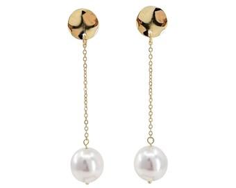 Nessa - silver dangle earrings